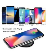 Wireless Charger,Yootech Wireless Charging Pad for iPhone X, iPhone 8/ 8... - $24.99