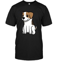 Cute Cartoon Jack Russell Terrier T Shirt Funny Dog Gift Tee - $17.99+