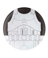 Star Wars Stormtrooper Melamine 10 inch Dinner Plate, NEW UNUSED - $7.84