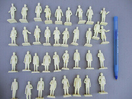 Mini Marx president Set Vintage Original Character Figures American Hist... - $94.95