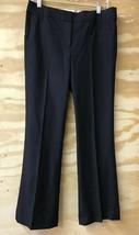 Ann Taylor LOFT Womens 8 ann BLACK Dress Pants EUC Style ann L16 - $14.84