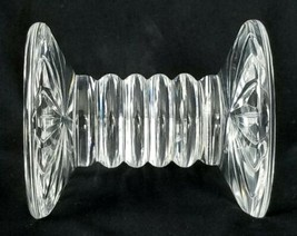 "Waterford Crystal Knife Rest 16 Point Cut Glass Large 3¼"" Vintage Gothic Mark - $52.20"