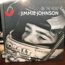 2011 Jimmie Johnson On The Road Book NASCAR Hendrick HMS Lowes first edi... - $24.50