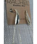 Earrings Rachel Roy Large Safety Pin Earrings - $17.71