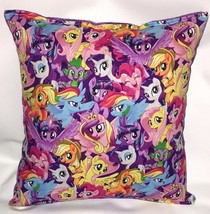 My Little Pony Pillow HANDMADE in USA Grouped Ponies Pillow MLP Pillow B... - $9.99