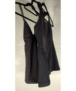 Lot of 2 Lululemon Womens Top Yoga Black Work out 4 - $29.70
