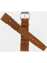 Swiss Army Brand 17mm Brown Braided Strap-Small Yeoman  Watch band 32049 - $25.00