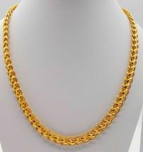 22 K Karat Gelbgold Dubai Design Kette Lotus Kette Unisex Schmuck Junge ... - $5,897.05