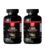liver detox and regenerate - LIVER COMPLEX 1200MG - ginseng extract - 2 Bottles - $28.01