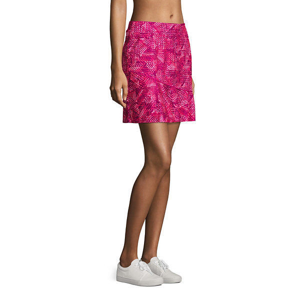 Made For Life Geometric Golf Skort Size PXL, M New Neon Berry