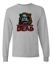 Ewoking Dead t shirt star wars the walking dead horror sci fi long sleeve tee image 2
