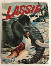 Vintage 1967 Whitman A Big Little Book Lassie Adventure in Alaska   - $7.91