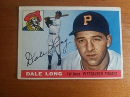 1955 Topps #127 Dale Long RC Rookie Pirates  - $4.95