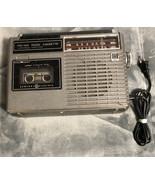 General Electric GE 3-5209A- AM/FM Cassette Radio- AC Adapter - Radio ... - $12.86