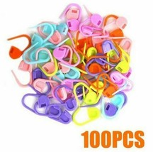 Locking Stitch Needle Clip Marker Knitting Crochet Mixed Color  - $8.62+