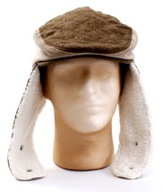 Columbia Omni Heat Flat Cap with Fleece Lined Ear Cover Chin Strap Adult L NWT - $59.39