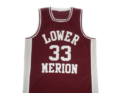Kobe Bryant #33 Lower Merion High School Basketball Jersey Maroon Any Size