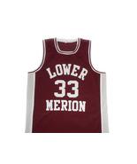 Kobe Bryant #33 Lower Merion High School Basketball Jersey Maroon Any Size - $34.99