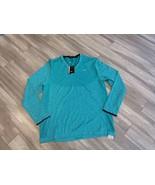 Nike Golf Modern Fit Men's Shirt SZ XXL Turquoise Long Sleeve - $45.00