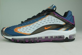 Nike Air Max Deluxe Youth Size 6.0 Grey Orange New Comfortable Rare - $169.98