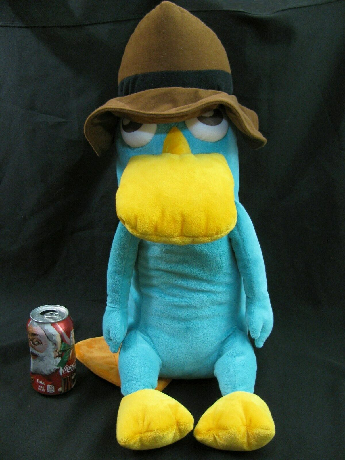 "Disney Store Large Perry the Platypus Plush  20"" Secret Agent Pet Phineas & Ferb image 3"