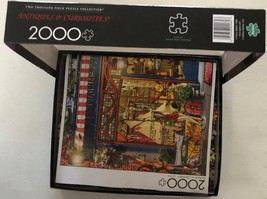 Buffalo Games Jigsaw Puzzle 2000 Pieces Antiques and Curiosities with Poster image 4