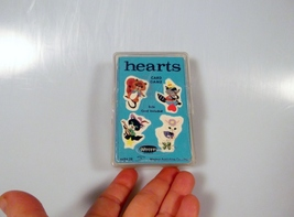 Vintage Hearts Children's Card Game 45 Cards Whitman Complete w/Case 1963 #4494 - $16.99