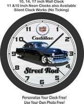 1949 cadillac Street Wall Clock-Chevrolet, Ford, Lincoln, Free US ship - $27.71+