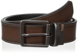 Levi Men's Stylish Classic Premium Genuine Leather Belt Reversible 11LV02UW