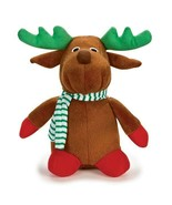 Singing Holiday Stuffed Christmas Reindeer Toy Plays Jingle Bells Xmas S... - $18.70