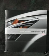2007 Nissan Vehicle Lineup. (Spanish Text) - $2.00