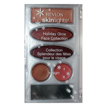 REVLON* Palette SKINLIGHTS Face Collection HOLIDAY GLOW Makeup+Mirror TW... - $11.99