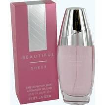 Estee Lauder Beautiful Sheer Perfume 2.5 Oz Eau De Parfum Spray image 1