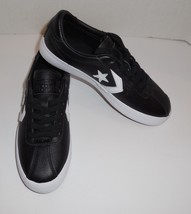 Mens 5 Womens 6.5 CONVERSE Breakpoint Ox Sneakers Shoes Black White New 157776C - $37.86