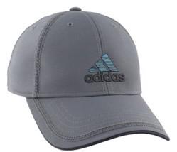 Adidas Golf Fish Contract II Cap OSFA Strapback Grey Aqua Onix Colorway Hat - $24.75