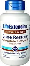 Life Extension Bone Restore Sugar-Free Chocolate, 60 Count - $76.71