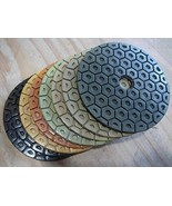 7 Inch Diamond Polishing Pad Grit 10000 WET/DRY Granite Concrete Stone M... - $14.84