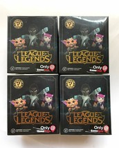 League of Legends LOT OF 4 Mystery Minis Gamestop Exclusive Funko Vinyl ... - $20.74