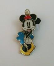Disney Minnie Mouse Blue Dress Pin - $6.79