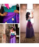 Custom-made Esmeralda Dress, Princess Esmeralda Cosplay Costume - $139.00