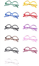Classic Vintage Round Wizard Costume Nerdy Glasses Frames NO LENS Spectacle Wear image 1