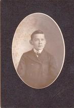 Robert Tulhill Cabinet Photo of Boy - Bellows Falls, Vermont - $17.50