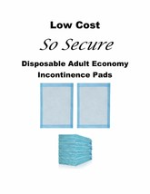 """LOW COST 200-23x24"""" So Secure 3-Layer Incontinence Furniture Mattress Pads - $29.50"""