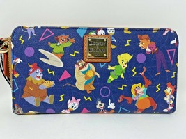 Disney Afternoon Dooney & and Bourke Wristlet Wallet Cortney Williams NWT B - $197.99