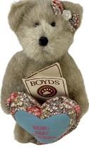 Boyds BEARY BEST GRANDMA Brown Plush Teddy Bear Stuffed Animal Jointed B... - $14.84