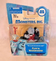 Disney Pixar Monsters Inc. C.E.O Henry J. Waternoose & Flint 2001 NIB - $35.35