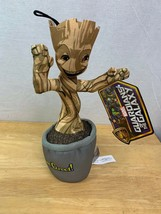 "Marvel Guardians Of The Galaxy 15"" I Am Groot  Potted Groot Plush Toy - NWT - $16.99"