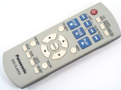 Panasonic N2QAYB000011 DVDS1S DVDS1P Remote Control