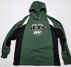Reebok NFL Football Youth Boys New York Jets Sweatshirt Hoodie Green Siz... - €12,74 EUR