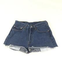 Levi's 501 Blue Jean Cut Off Shorts 32 - $24.74